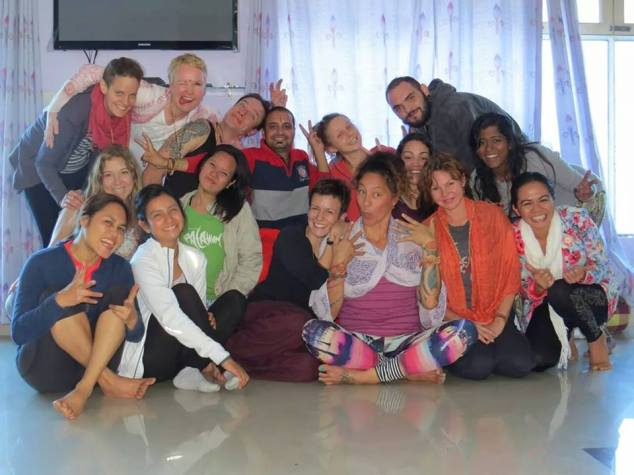 Vinyasa Yoga School batch October 2014